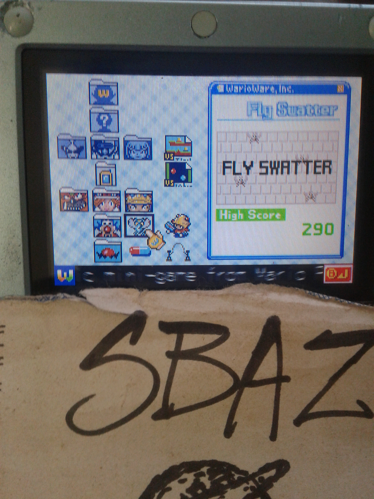 S.BAZ: WarioWare, Inc.: Mega Microgame$!: Fly Swatter (GBA) 290 points on 2020-06-02 17:56:50