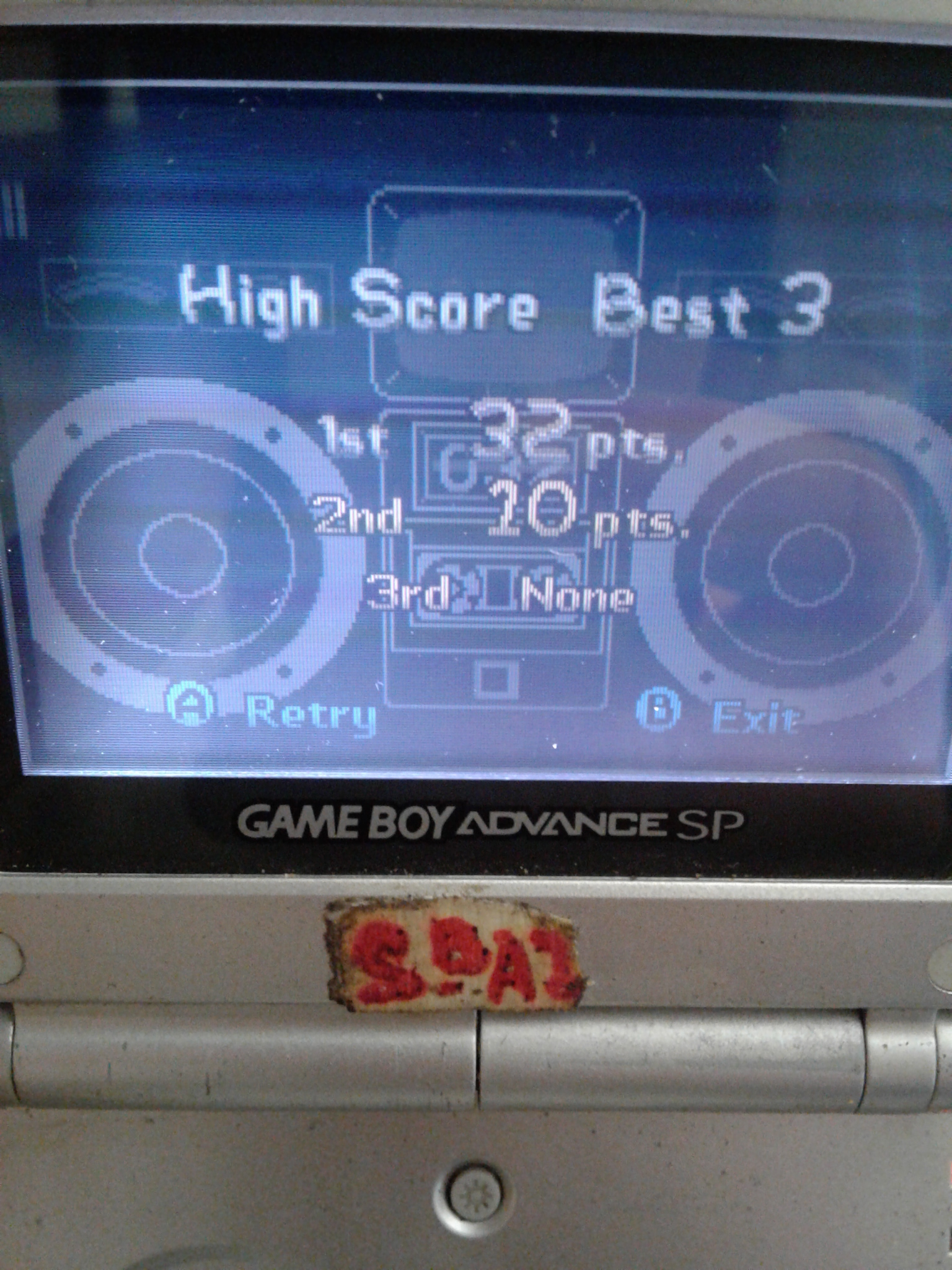S.BAZ: WarioWare, Inc.: Mega Microgame$!: Intro (GBA) 32 points on 2020-04-19 17:50:27