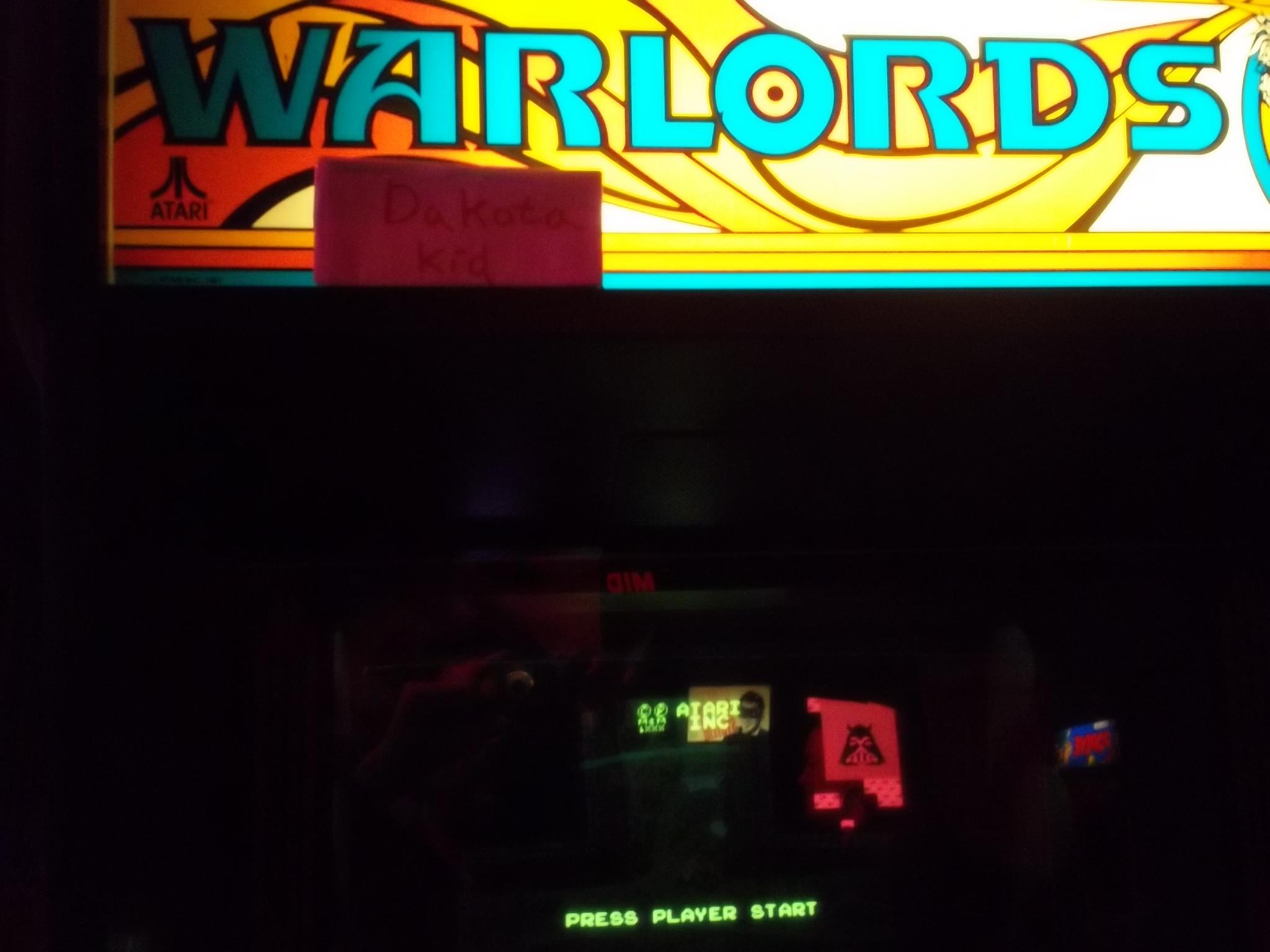 DakotaKid: Warlords (Arcade) 10,625 points on 2017-01-19 14:42:58