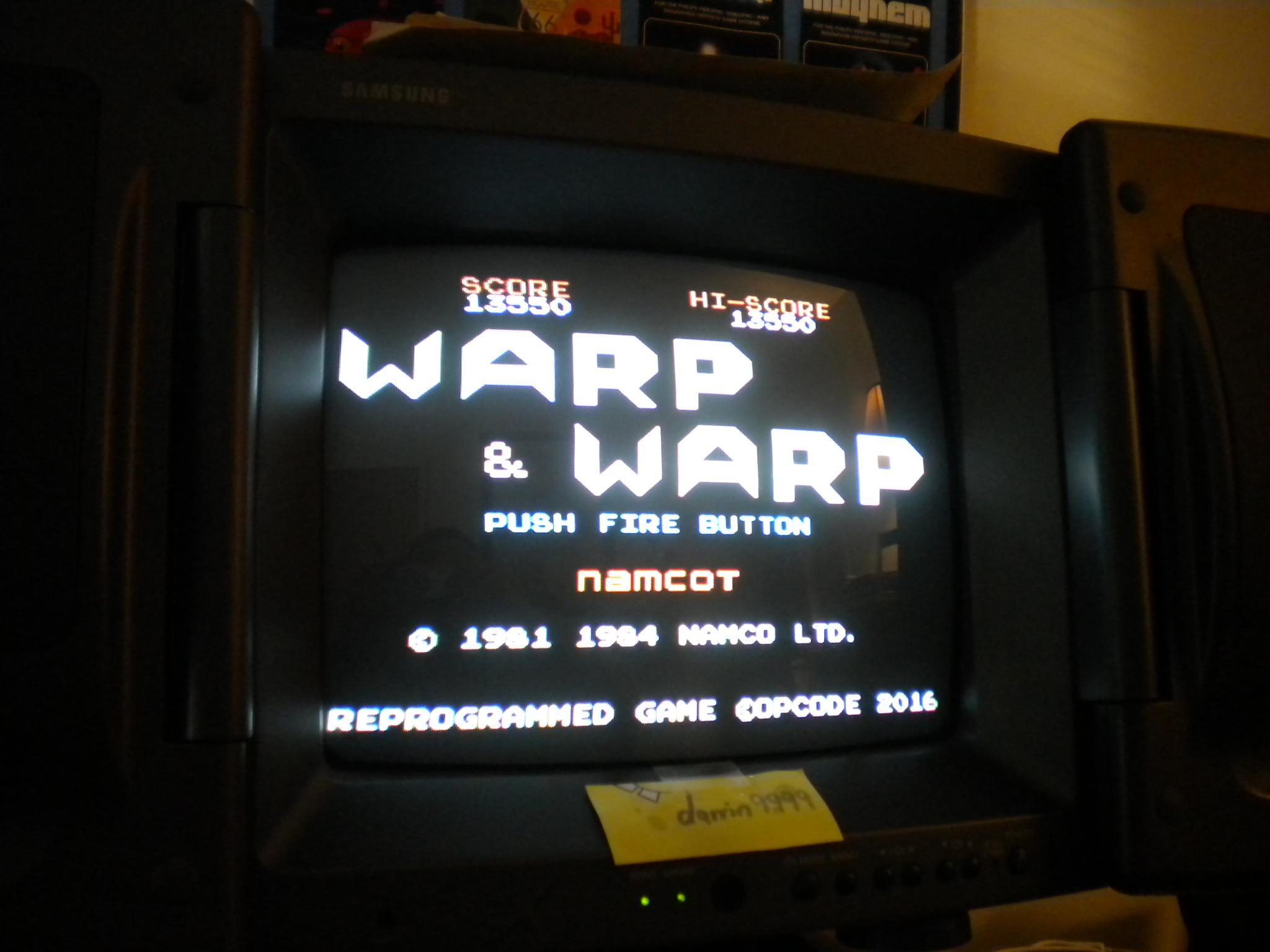 Warp & Warp 13,550 points