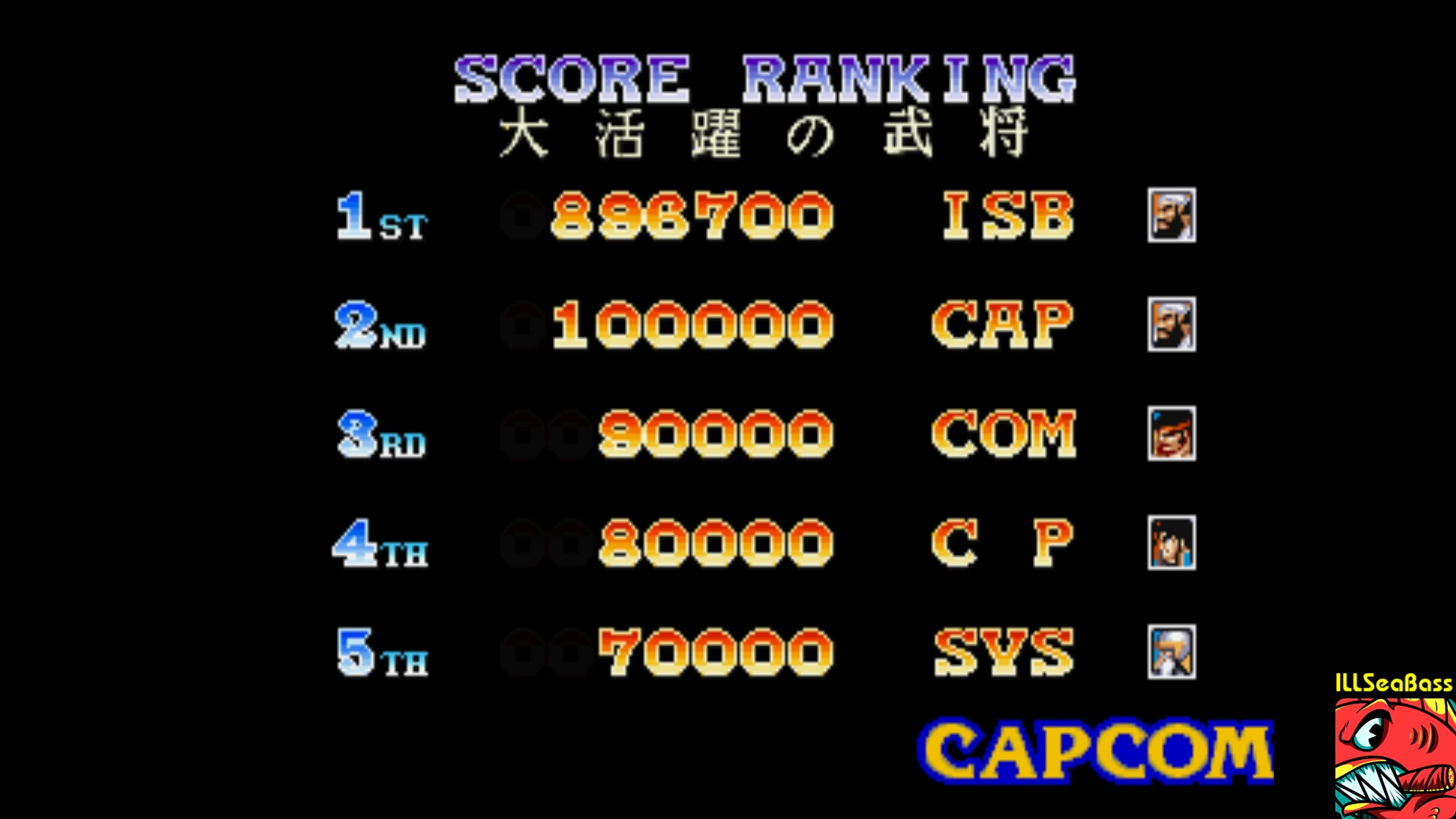 ILLSeaBass: Warriors Of Fate [Hard] (Playstation 1 Emulated) 896,700 points on 2017-11-17 00:30:33