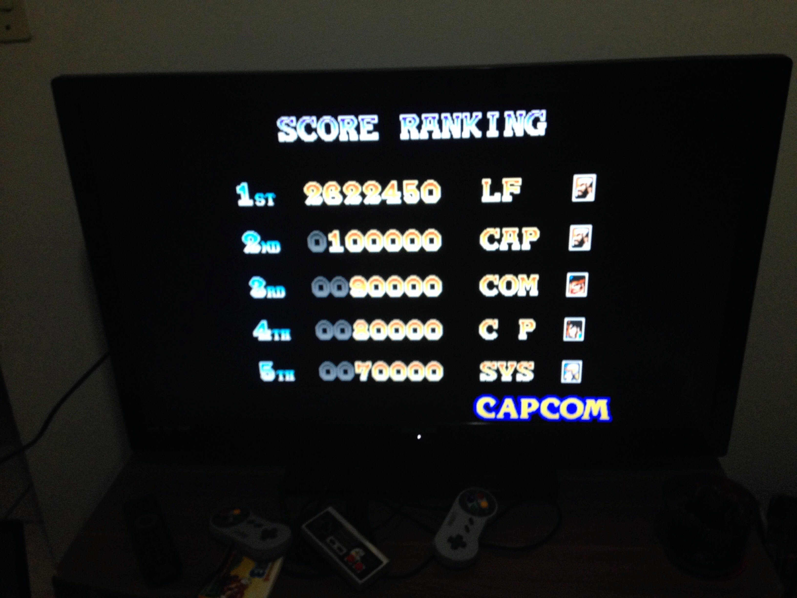 LoboFurioso: Warriors of Fate [wof] (Arcade Emulated / M.A.M.E.) 2,622,450 points on 2018-03-24 00:22:34