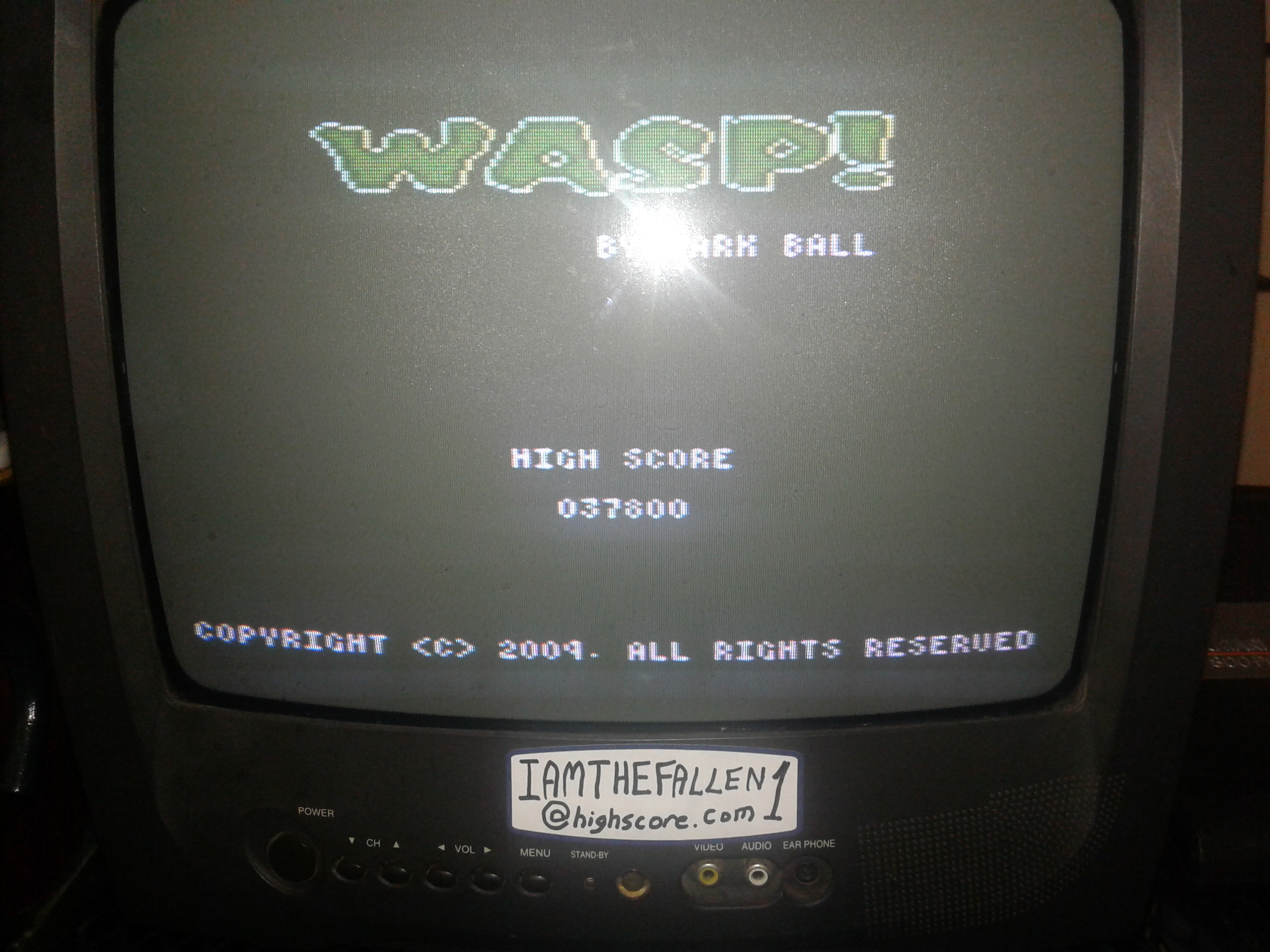 Wasp! 37,800 points
