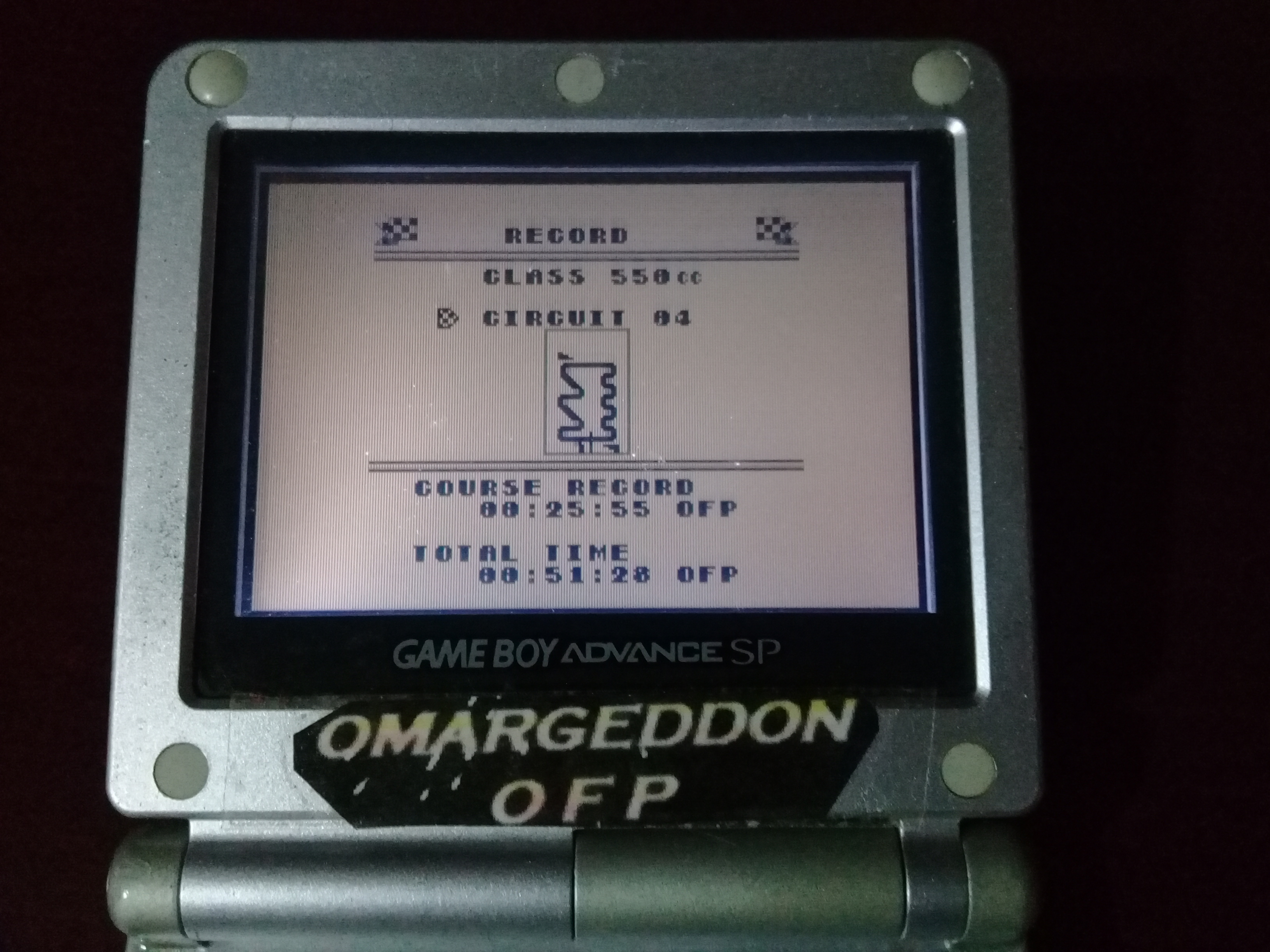 omargeddon: Wave Race: Circuit 4: Rio [550cc][Total Time] (Game Boy) 0:00:51.28 points on 2019-04-16 14:39:46