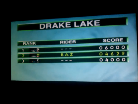 S.BAZ: Wave Race: Drake Lake [Stunt Mode] (N64) 4,629 points on 2016-04-15 13:51:37