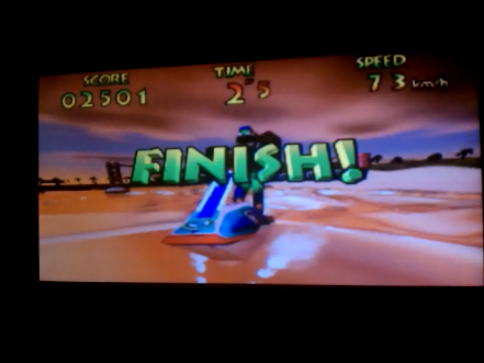 S.BAZ: Wave Race: Sunset Bay [Stunt Mode] (N64) 2,501 points on 2016-04-15 14:15:20