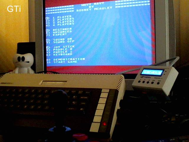 GTibel: Wavy Navy (Atari 400/800/XL/XE) 9,960 points on 2017-09-20 08:29:37