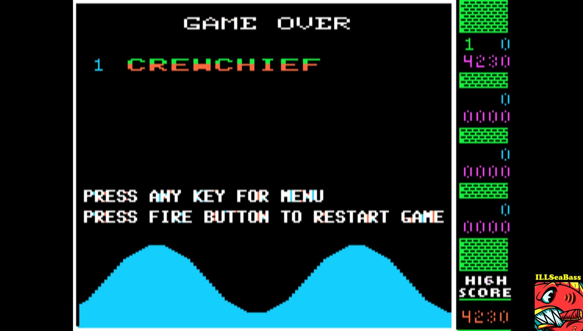 ILLSeaBass: Wavy Navy [Beginner] (Apple II Emulated) 4,230 points on 2017-02-20 22:15:41