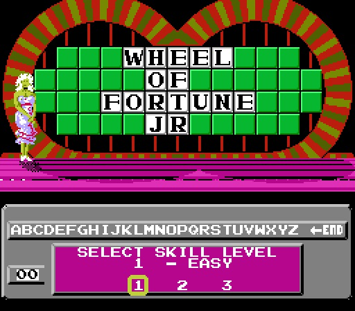 Deteacher: Wheel of Fortune: Junior Edition [Skill 1] (NES/Famicom Emulated) 8,850 points on 2015-07-05 12:04:26