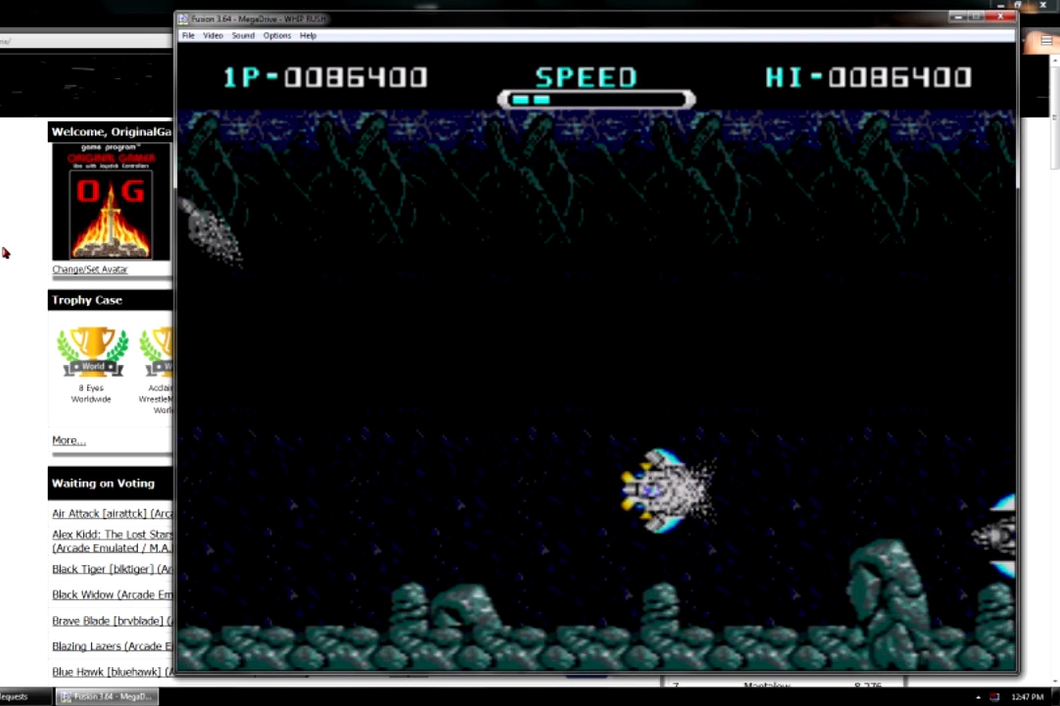 OriginalGamer: Whip Rush: Wakusei Voltegas no Nazo [Normal] (Sega Genesis / MegaDrive Emulated) 86,400 points on 2015-06-20 19:00:55