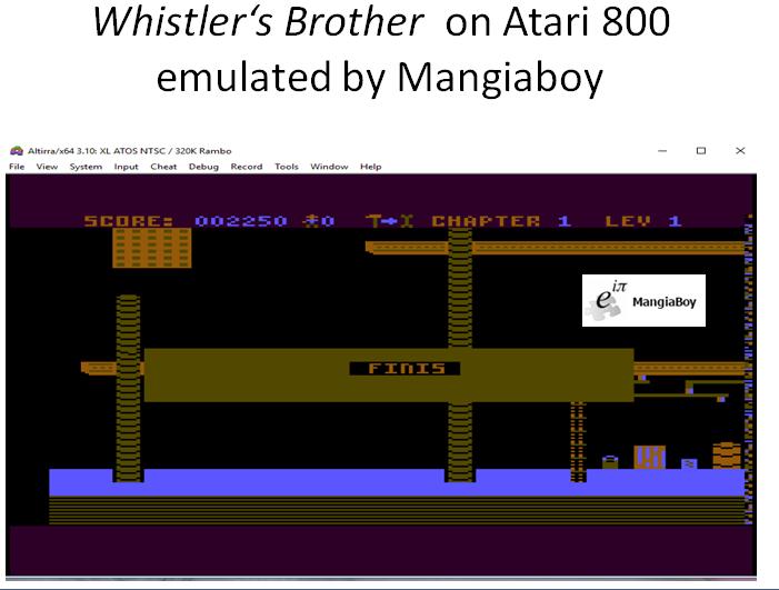 MangiaBoy: Whistler