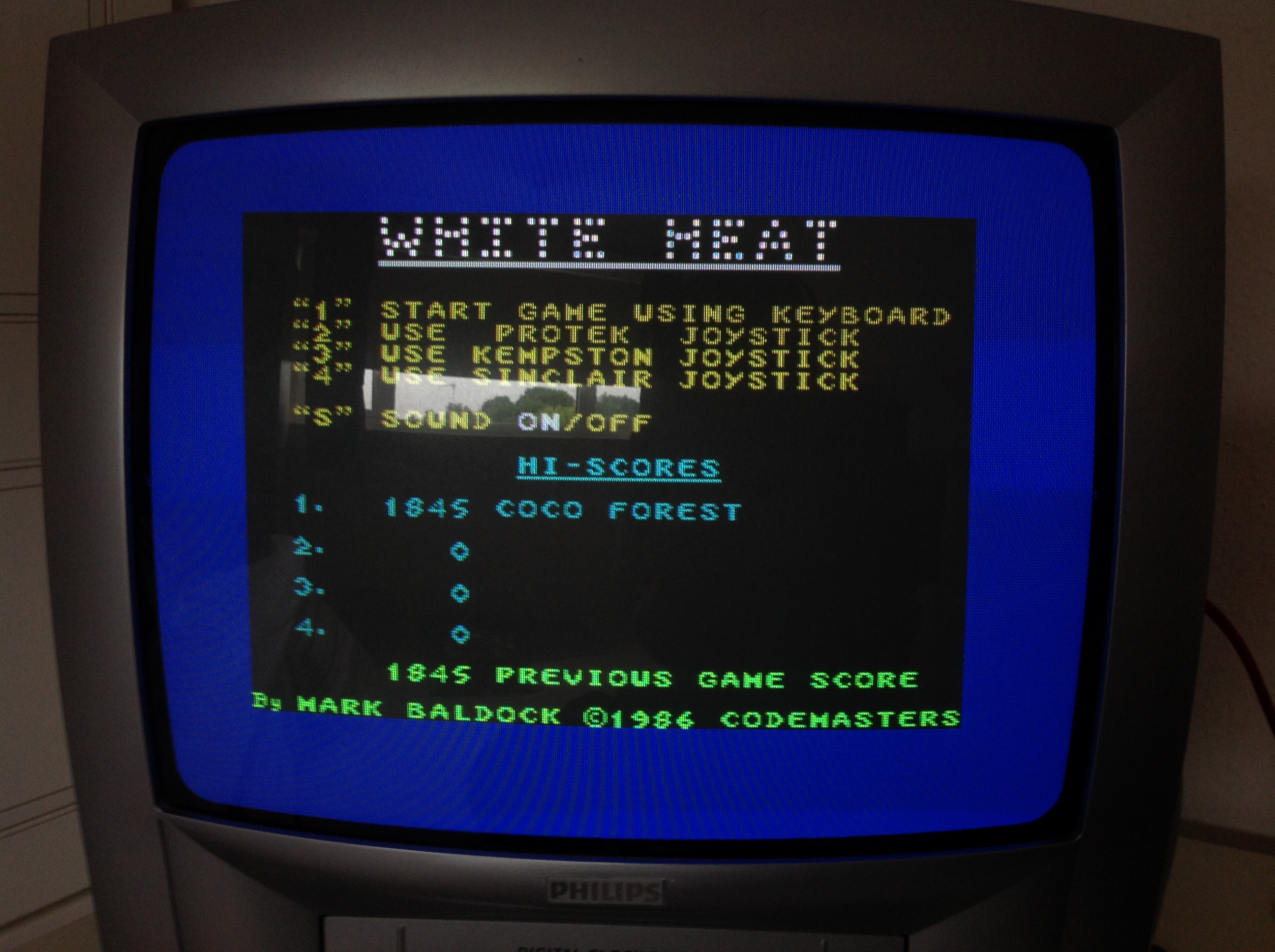 White Heat 1,845 points