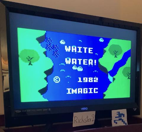 Rickster8: White Water [Game 1] (Intellivision) 0:00:53.9 points on 2021-03-03 12:21:45