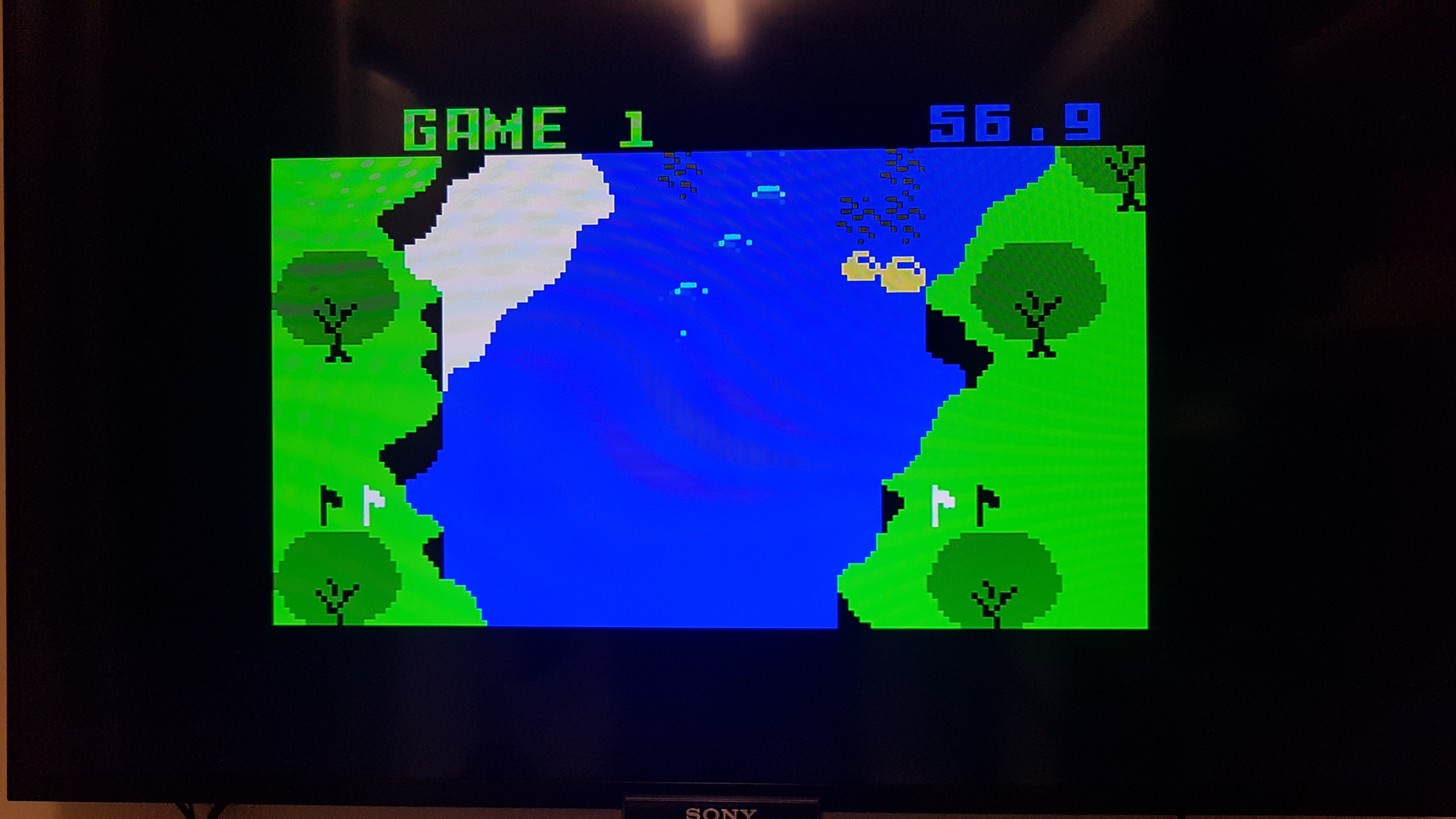 Bamse: White Water [Game 1] (Intellivision) 0:00:56.9 points on 2019-01-16 15:56:53