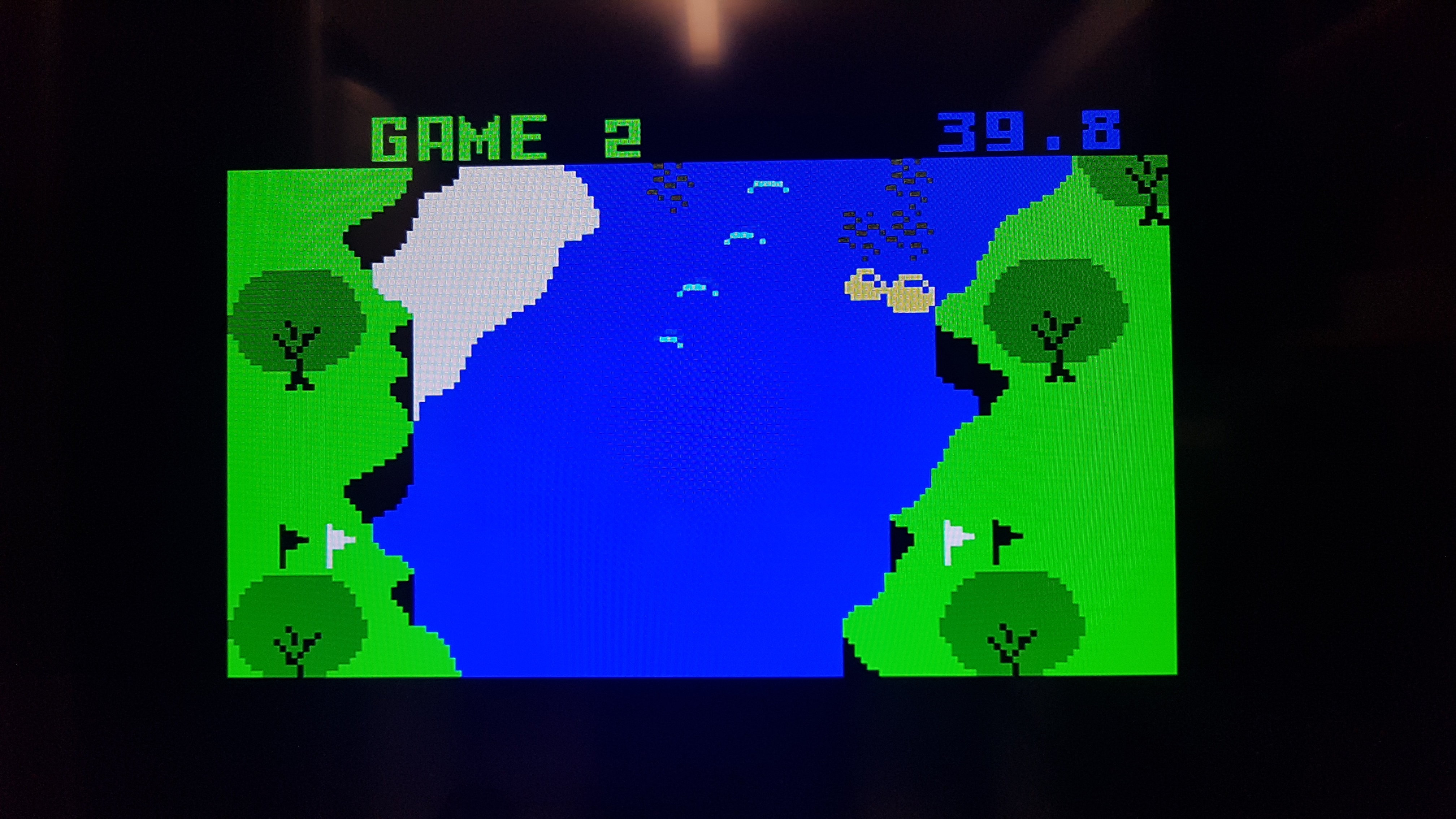 Bamse: White Water [Game 2] (Intellivision) 0:00:39.8 points on 2019-01-16 16:01:06