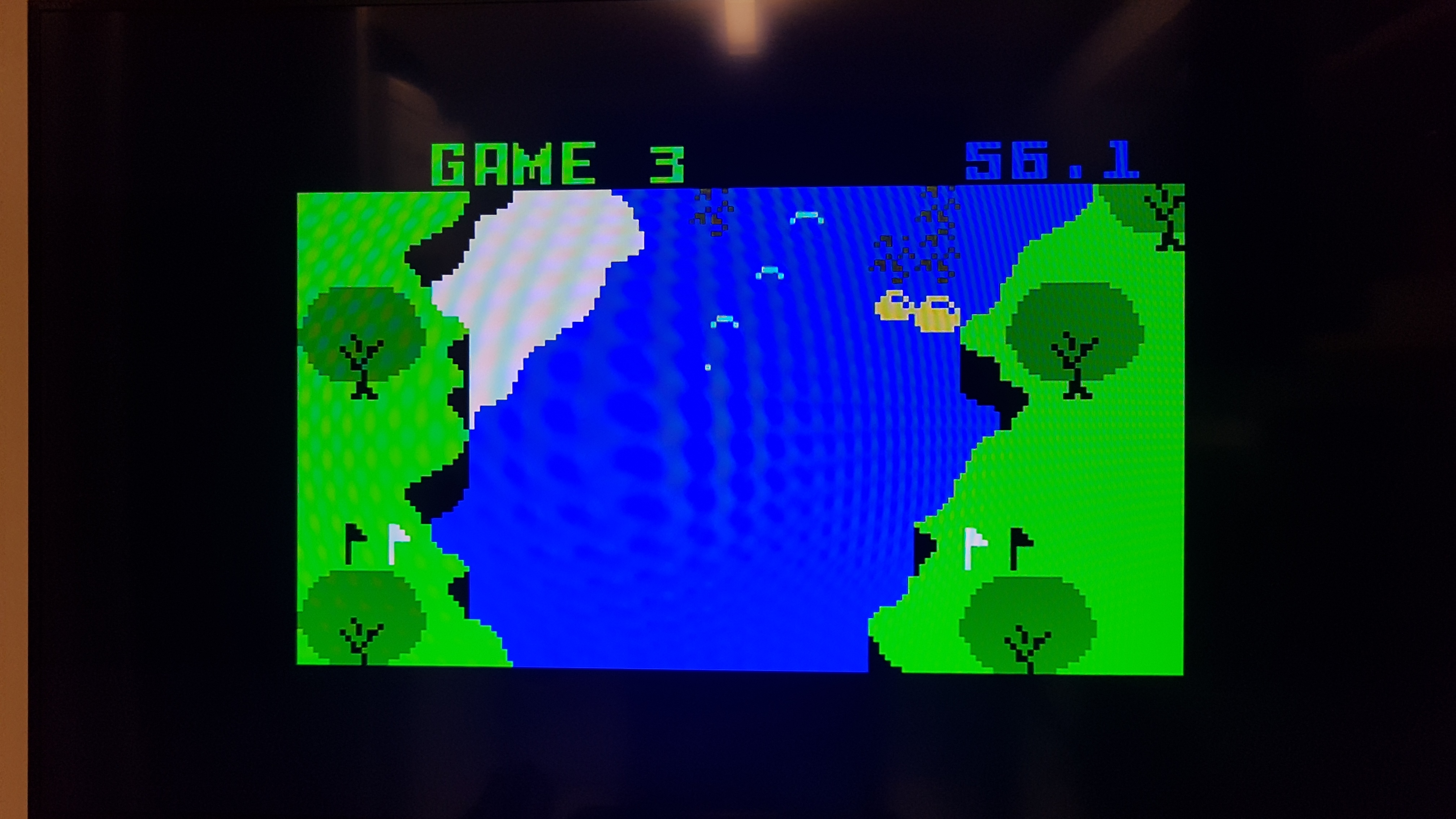 Bamse: White Water [Game 3] (Intellivision) 0:00:56.1 points on 2019-01-16 16:03:07