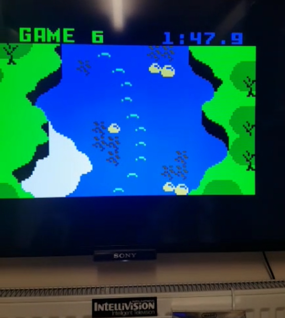 Bamse: White Water [Game 6] (Intellivision) 0:01:47.9 points on 2019-01-21 12:52:39