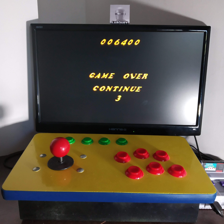 Larquey: Whizz (SNES/Super Famicom Emulated) 6,400 points on 2020-08-30 08:04:10