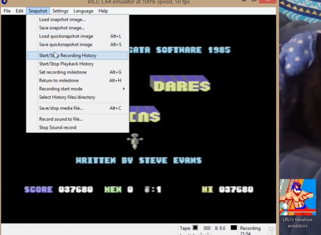 LuigiRuffolo: Who Dares Wins (Commodore 64 Emulated) 37,680 points on 2020-05-26 12:42:04