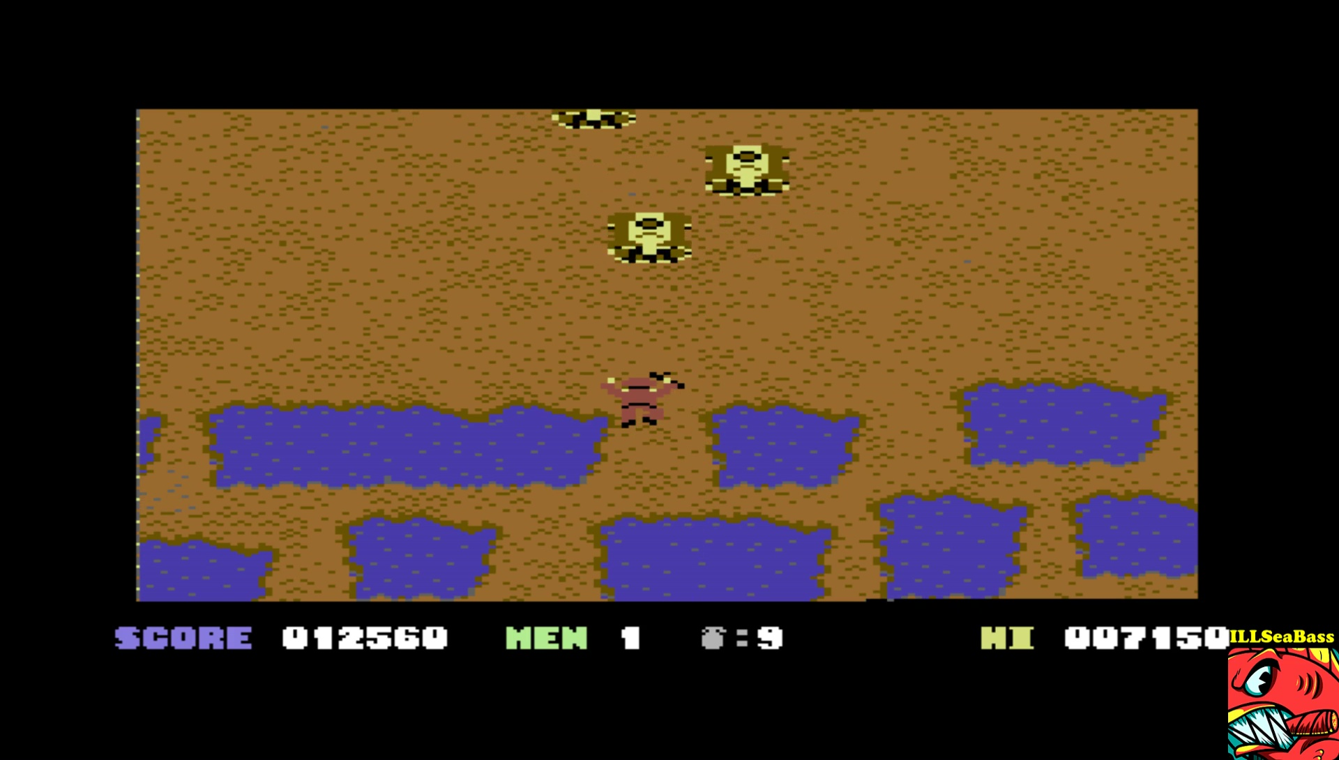 ILLSeaBass: Who Dares Wins II [Alligata] (Commodore 64 Emulated) 12,560 points on 2017-04-11 23:20:59