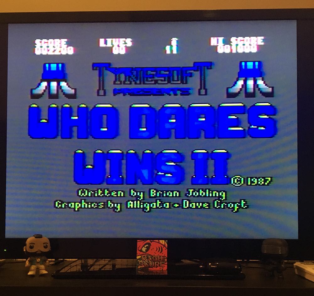 ILLSeaBass: Who Dares Wins II (Atari 400/800/XL/XE) 2,200 points on 2017-05-06 23:47:54