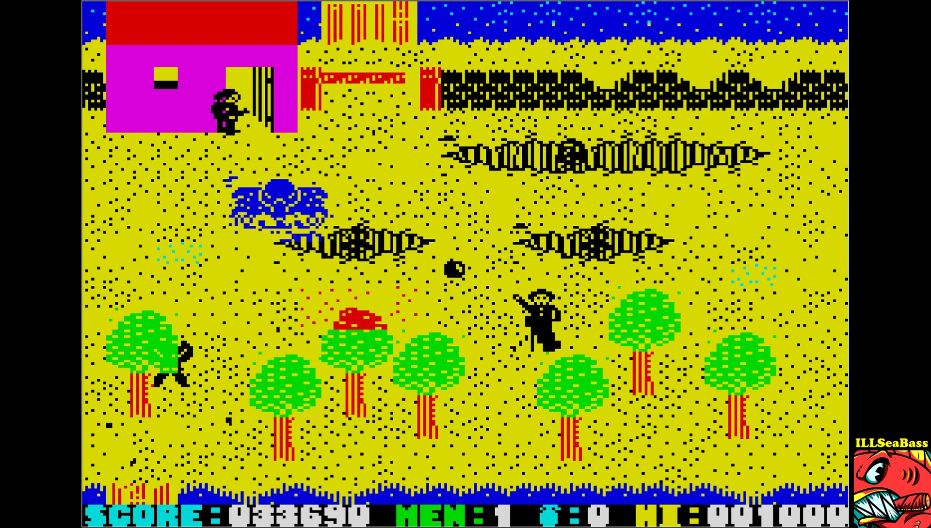 ILLSeaBass: Who Dares Wins II (ZX Spectrum Emulated) 33,690 points on 2017-06-13 08:51:04