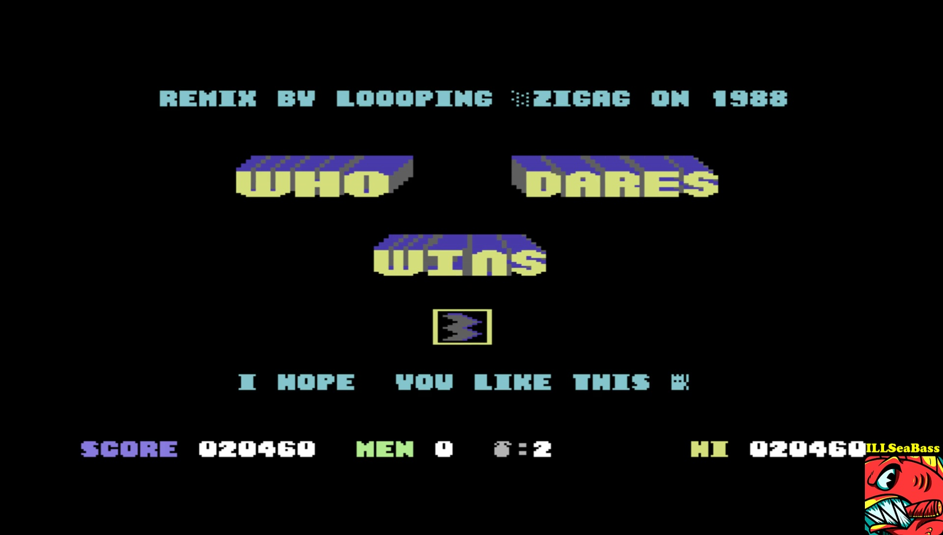 ILLSeaBass: Who Dares Wins III (Commodore 64 Emulated) 20,460 points on 2017-06-05 23:00:30