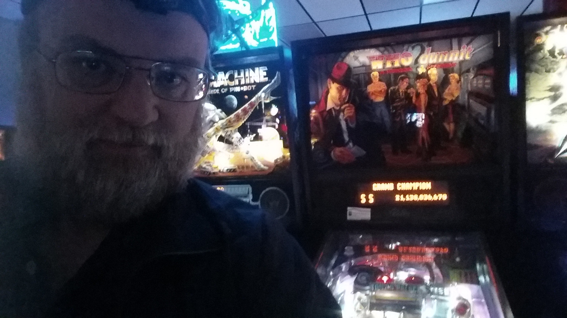 SeanStewart: Who Dunnit (Pinball: 3 Balls) 21,138,036,670 points on 2016-12-17 12:53:02