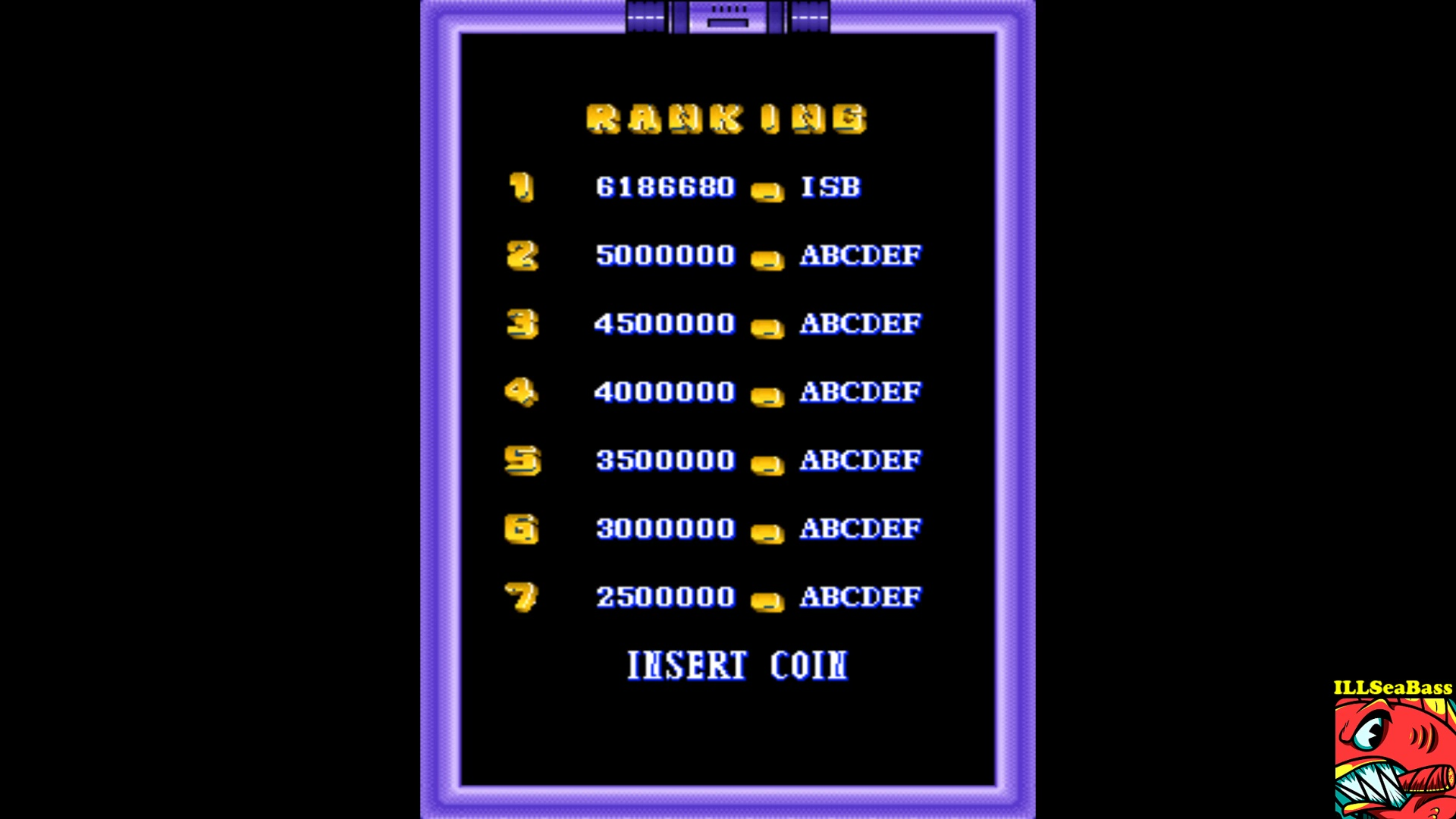 ILLSeaBass: Wiggie Waggie (Arcade Emulated / M.A.M.E.) 6,186,680 points on 2017-09-29 22:17:14