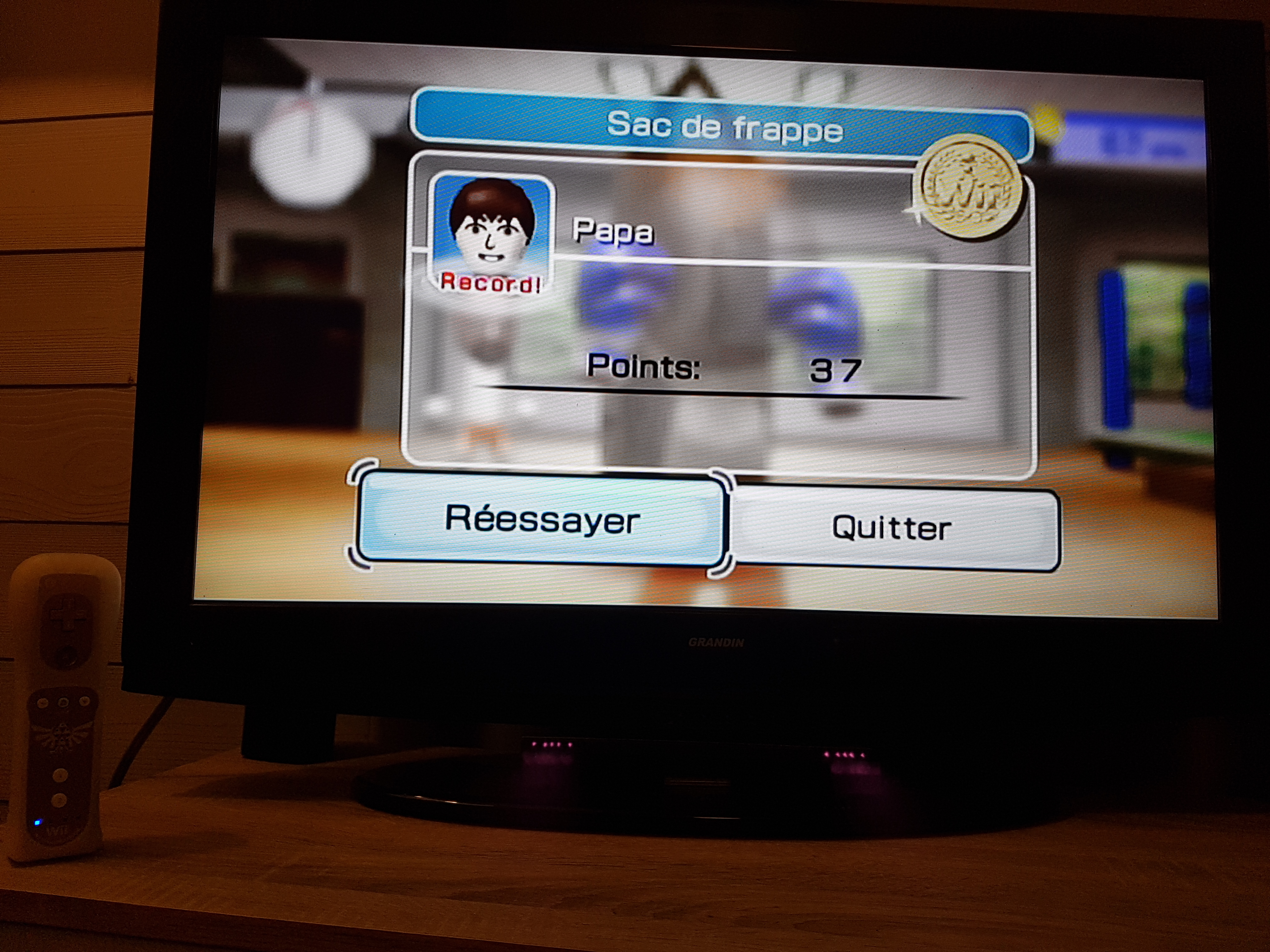 EddieNiceguy: Wii Sports: Boxing [Working the Bag] (Wii) 37 points on 2018-02-02 15:42:56