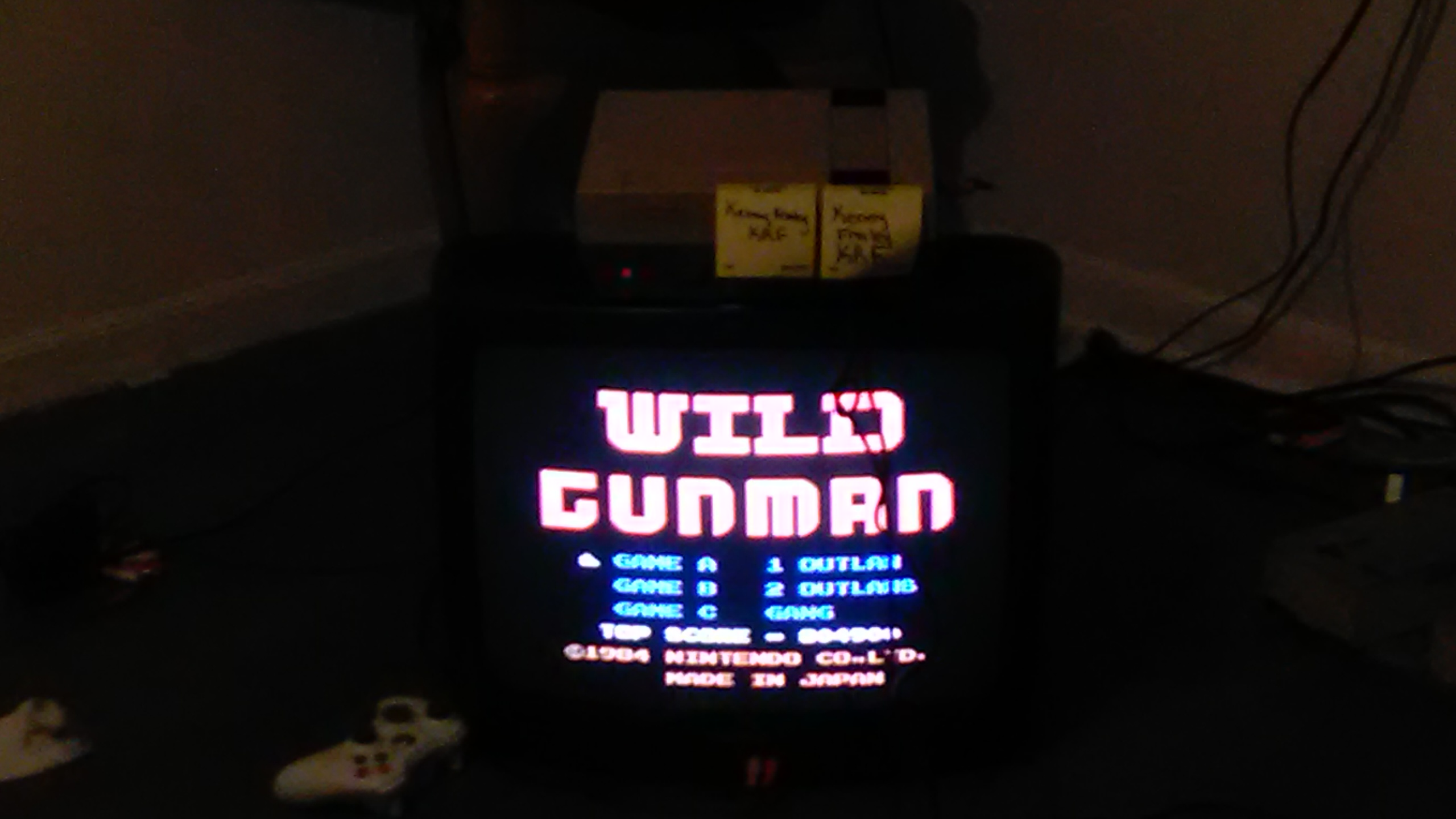 Wild Gunman: Game A 804,900 points