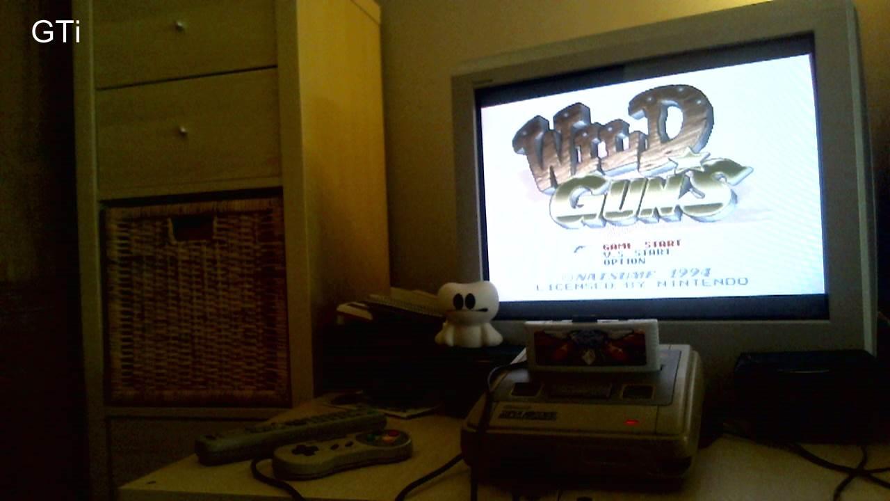 GTibel: Wild Guns (SNES/Super Famicom) 164,710 points on 2016-11-12 03:57:50