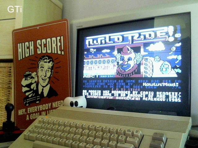 GTibel: Wild Ride (Commodore 64) 18,816 points on 2016-12-05 12:24:06