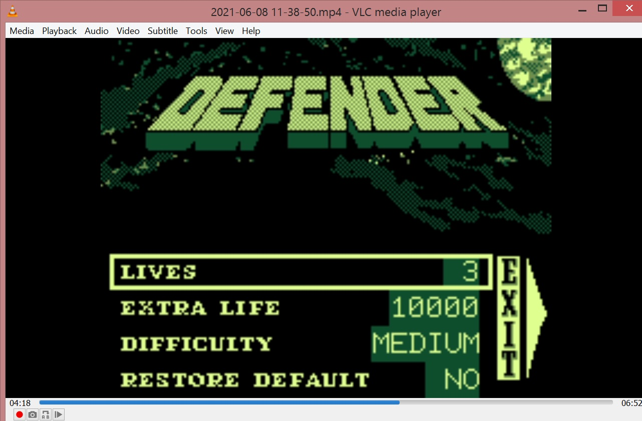 LuigiRuffolo: Williams Arcade Classics: Defender (Game.com Emulated) 23,150 points on 2021-06-08 05:01:12