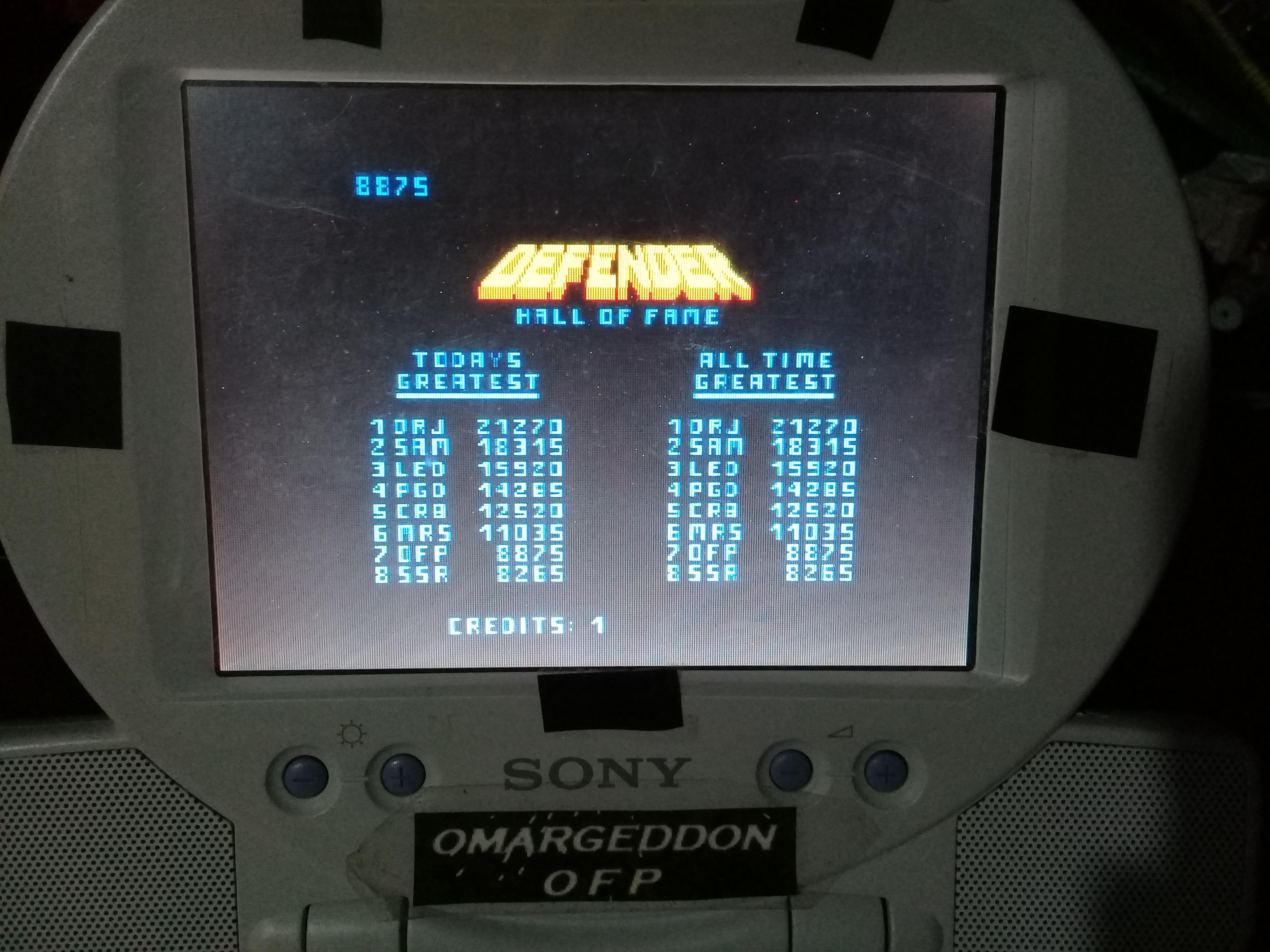 omargeddon: Williams Arcade