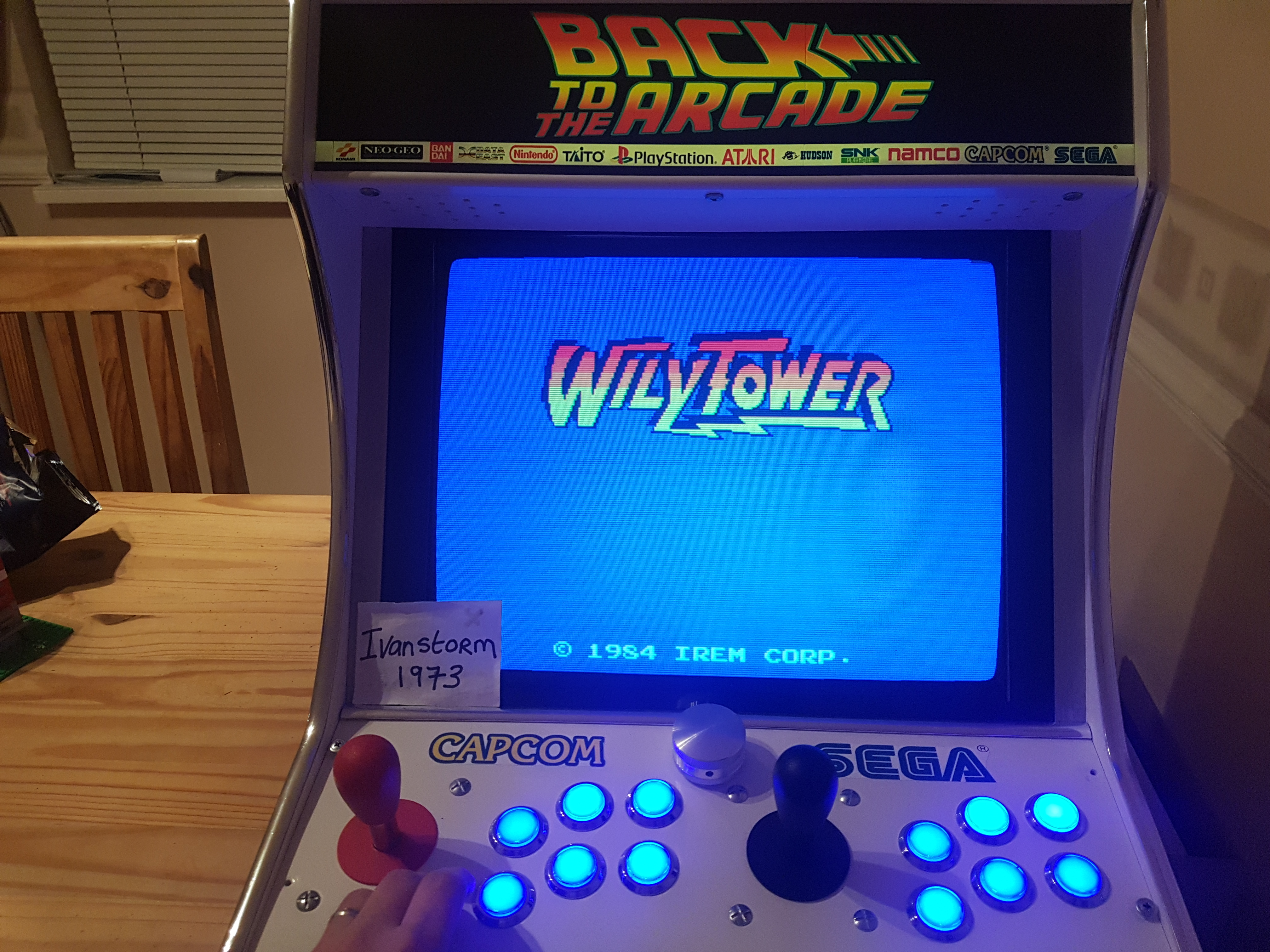 Ivanstorm1973: Wily Tower [wilytowr] (Arcade Emulated / M.A.M.E.) 192,300 points on 2018-04-02 13:21:14