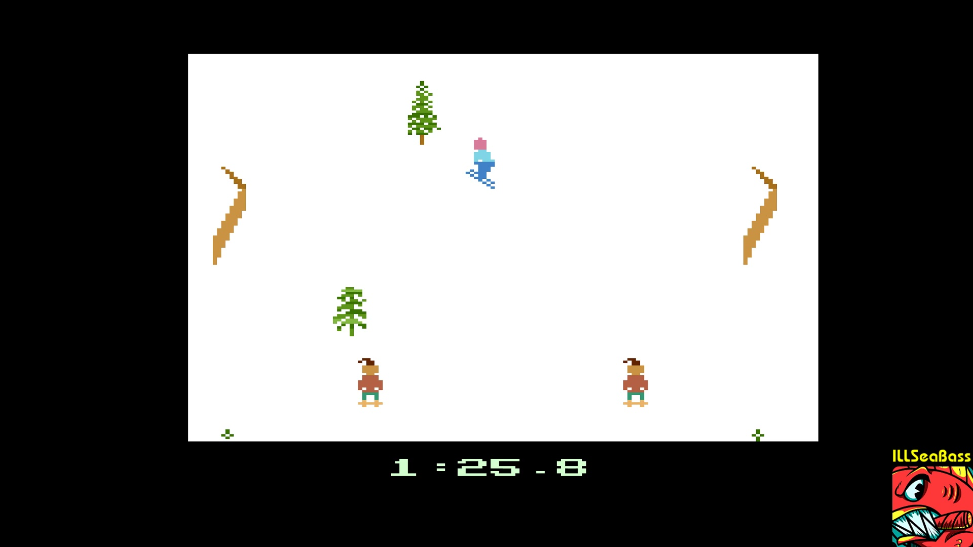ILLSeaBass: Winter Games: Biathlon [Best Time] (Atari 2600 Emulated) 0:01:25.8 points on 2017-12-29 12:36:09