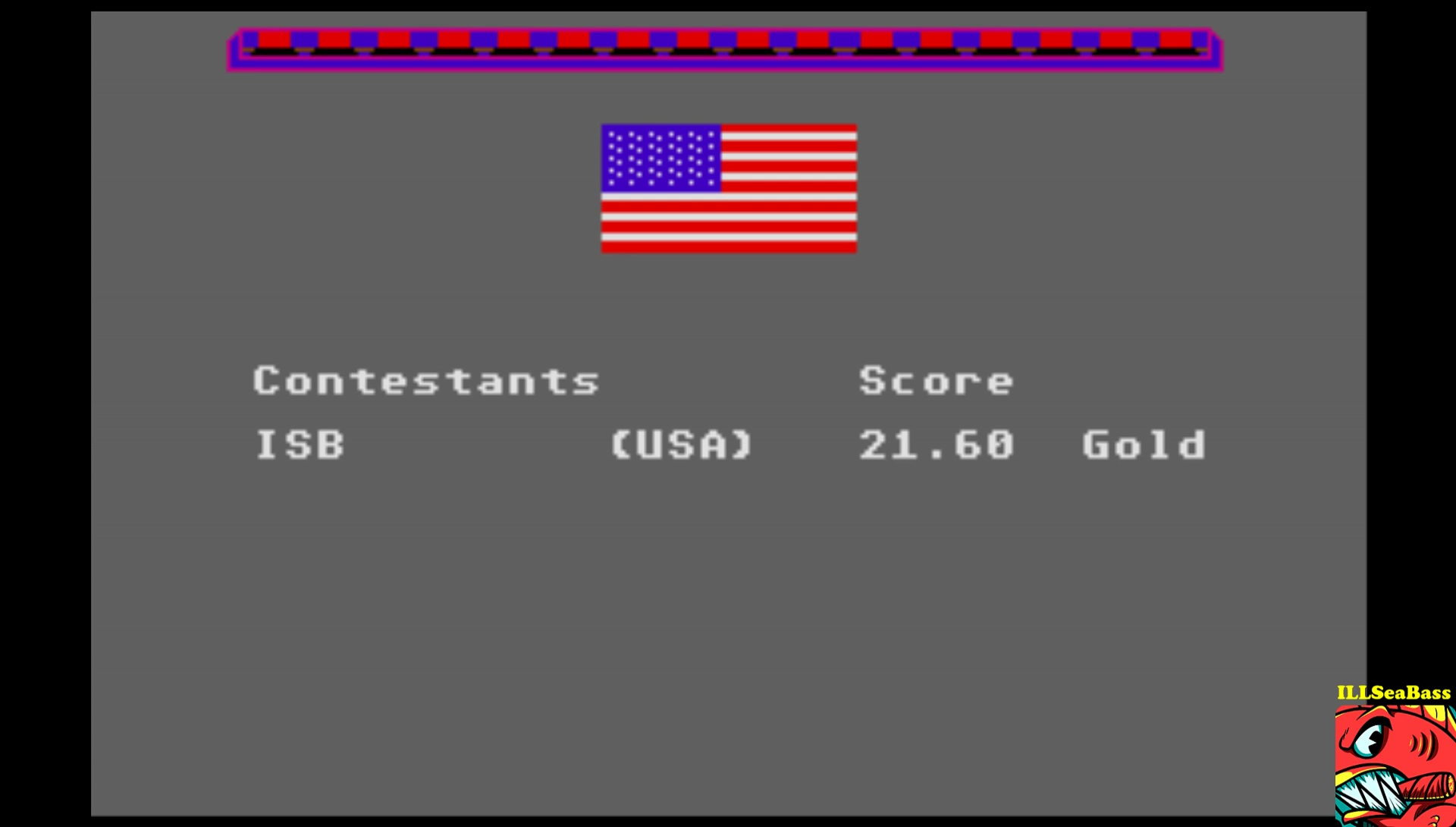 ILLSeaBass: Winter Games: Bobsled (Atari ST Emulated) 0:00:21.6 points on 2017-03-04 16:26:23