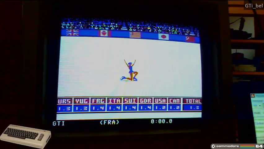 GTibel: Winter Games: Figure Skating (Commodore 64) 13 points on 2016-11-06 06:40:36