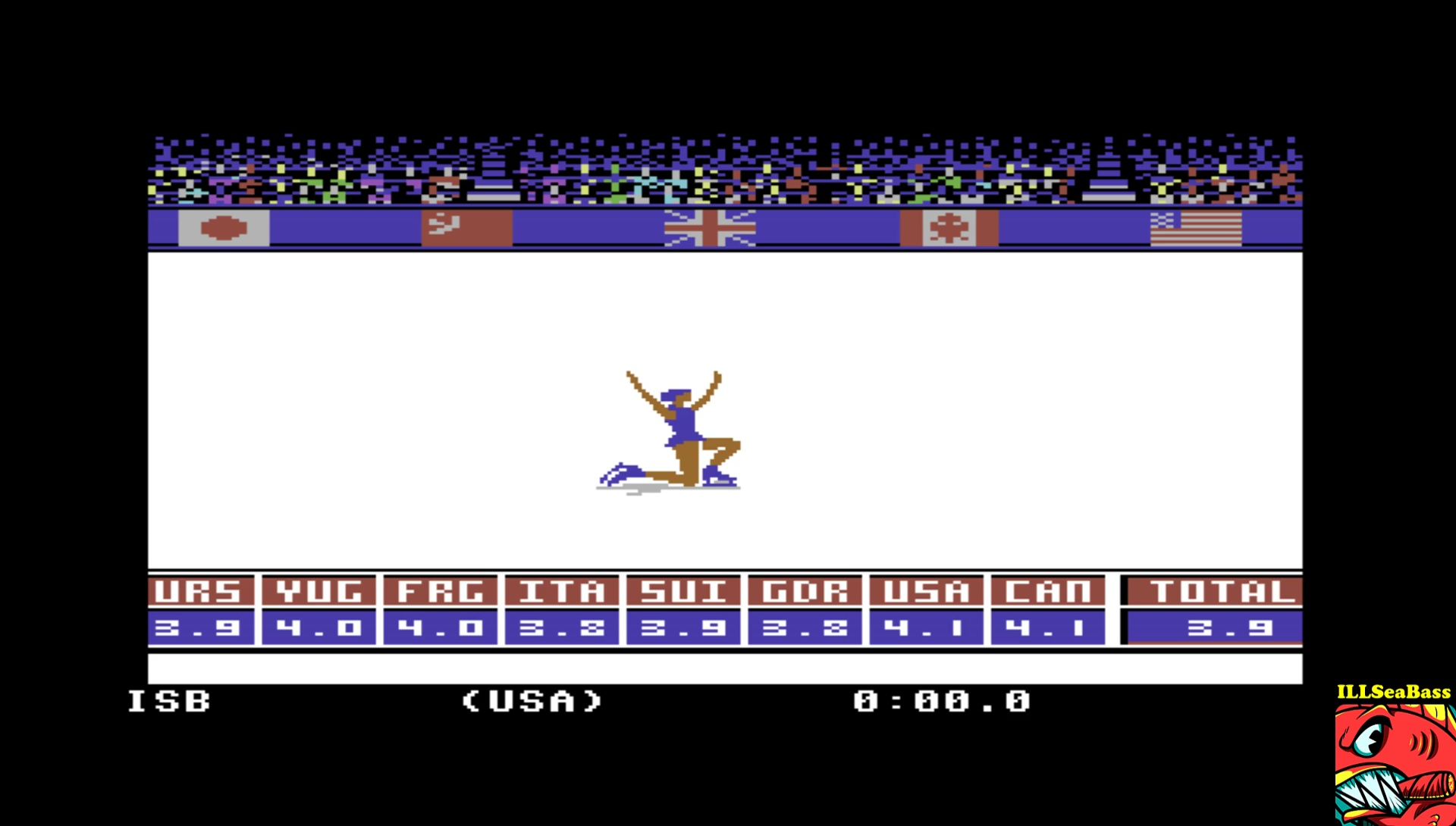 ILLSeaBass: Winter Games: Figure Skating (Commodore 64 Emulated) 39 points on 2017-04-24 12:02:01