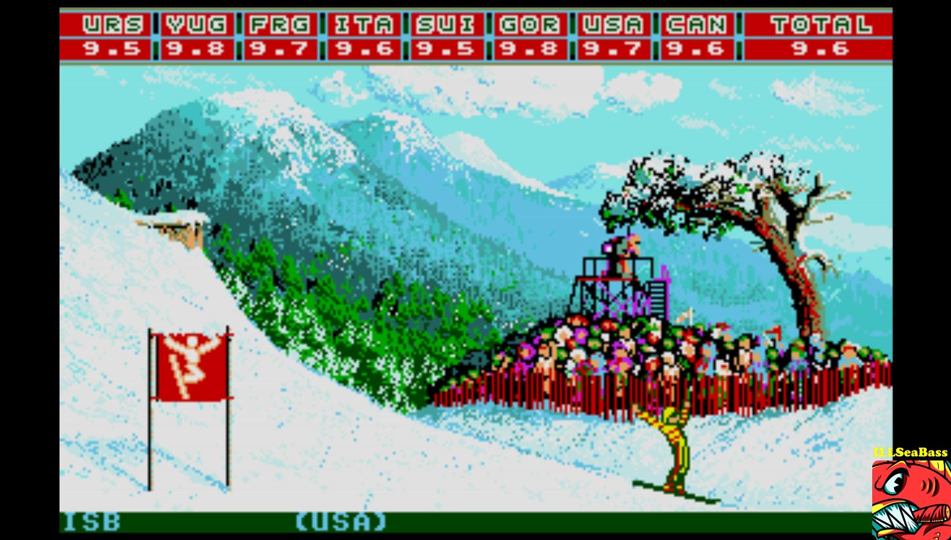 ILLSeaBass: Winter Games: Hot Dog (Atari ST Emulated) 96 points on 2017-03-04 16:55:25