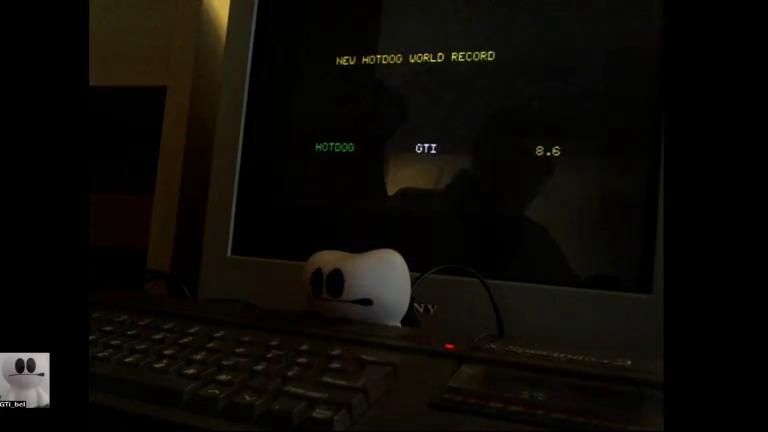 GTibel: Winter Games [Hot Dog] [Score * 10] (ZX Spectrum) 86 points on 2017-12-08 08:56:10