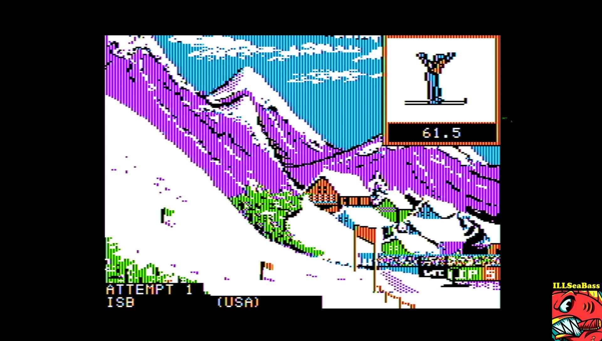 ILLSeaBass: Winter Games: Ski Jump (Apple II Emulated) 2,022 points on 2017-03-11 16:01:20