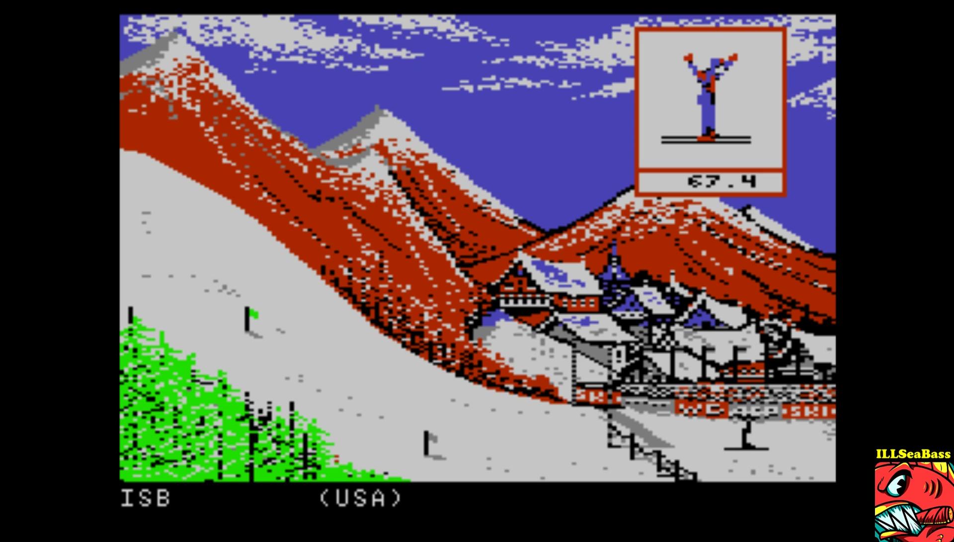 ILLSeaBass: Winter Games: Ski Jump (Atari 7800 Emulated) 216 points on 2017-02-16 21:20:14