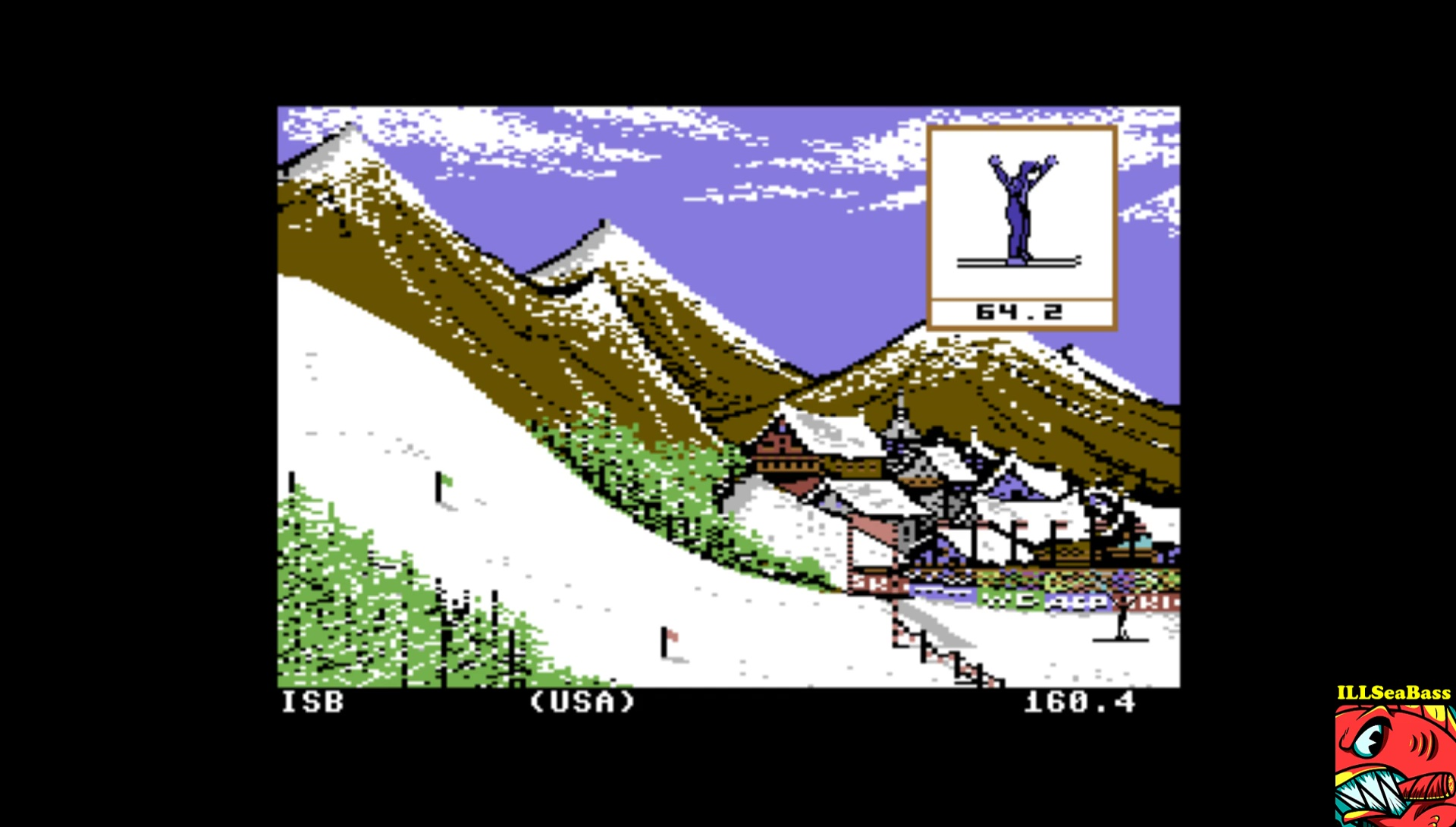 Winter Games: Ski Jump 210 points