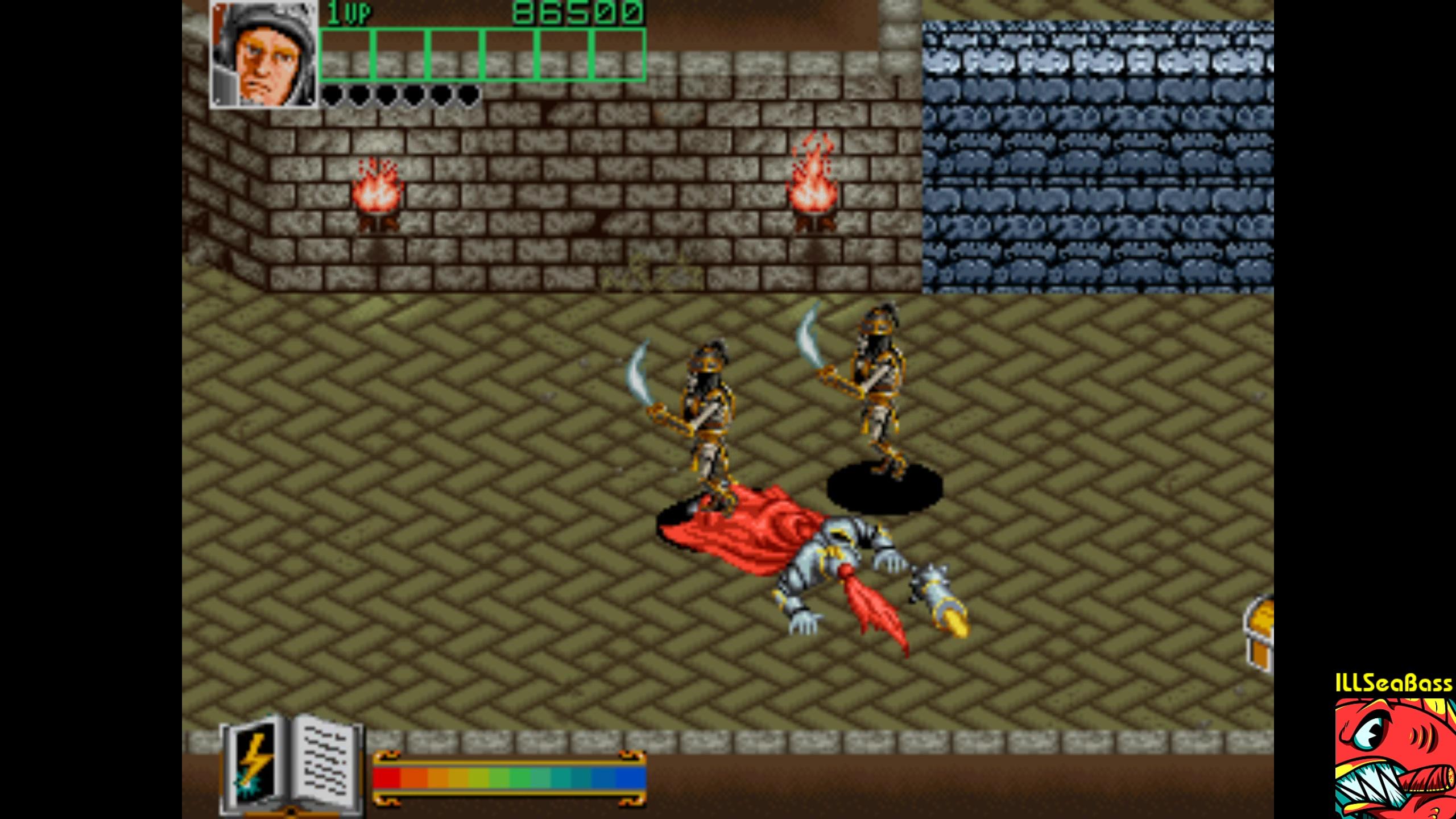 ILLSeaBass: Wizard Fire [wizdfire] (Arcade Emulated / M.A.M.E.) 86,500 points on 2018-02-10 10:01:30