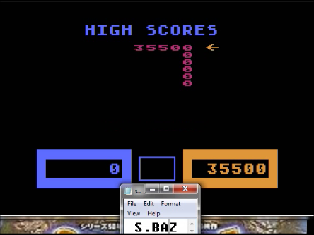 S.BAZ: Wizard Of Wor (Atari 5200 Emulated) 35,500 points on 2016-03-01 23:55:10