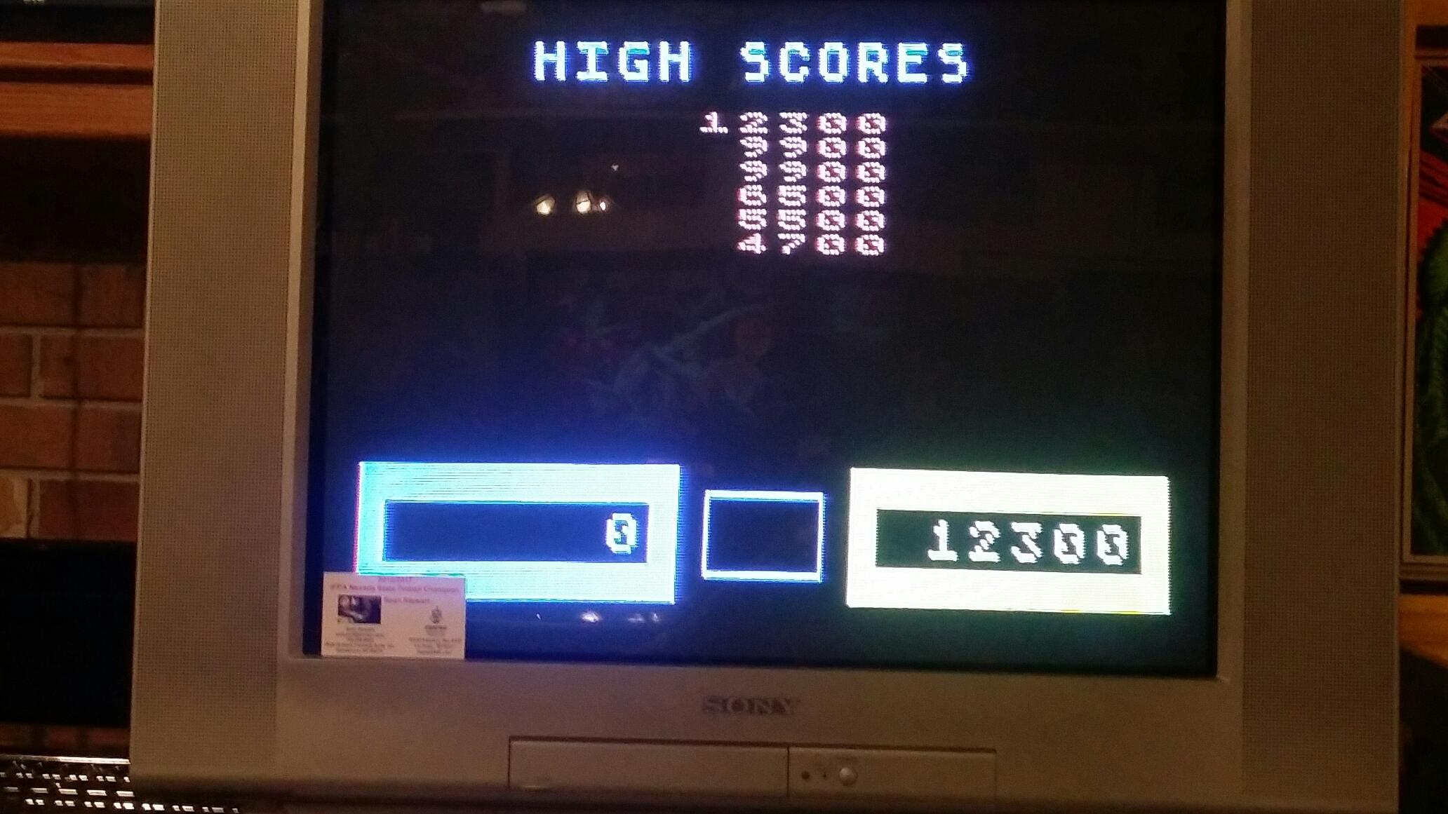 SeanStewart: Wizard Of Wor (Atari 5200) 12,300 points on 2017-07-24 22:37:50