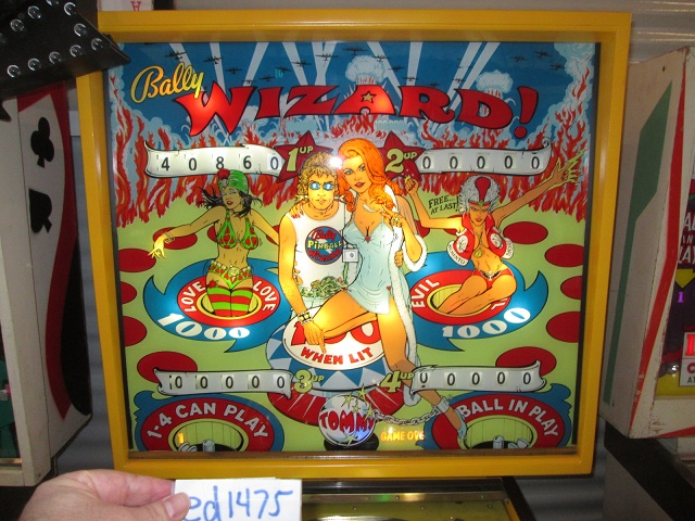 ed1475: Wizard (Pinball: 3 Balls) 40,860 points on 2017-01-21 17:45:35