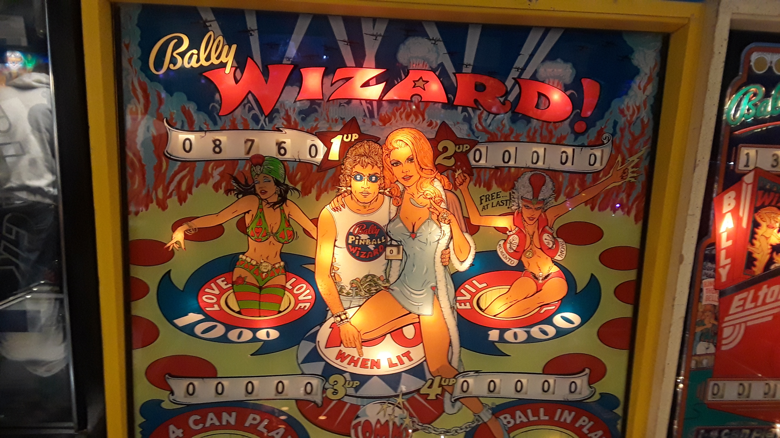 JML101582: Wizard (Pinball: 3 Balls) 8,750 points on 2019-11-23 19:56:34